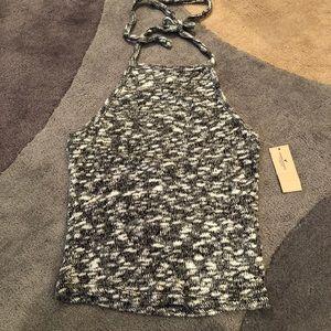 American Eagle soft knit halter top